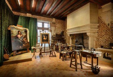 Les ateliers de Léonard de Vinci au Clos Lucé
