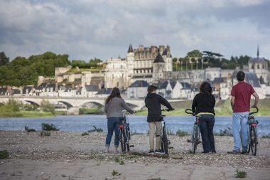 Amboise Châteaux de la Loire à Vélo vacances hiver
