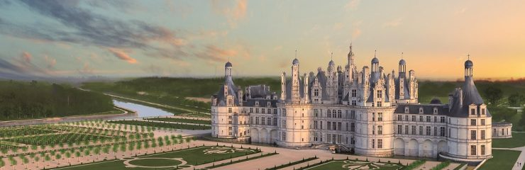 The chateaux of the Loire near Amboise