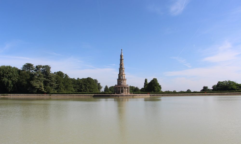 A sunny day at the Pagoda of Chanteloup