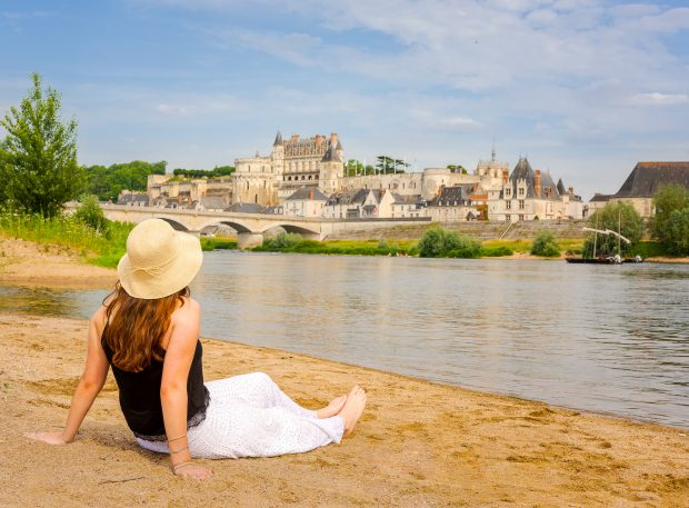 On the banks of river Loire