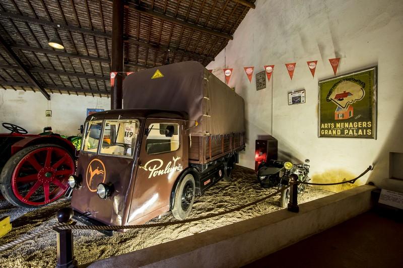 Camion Electrique Sovel – Entreprise Poulain – Musée Maurice Dufresne