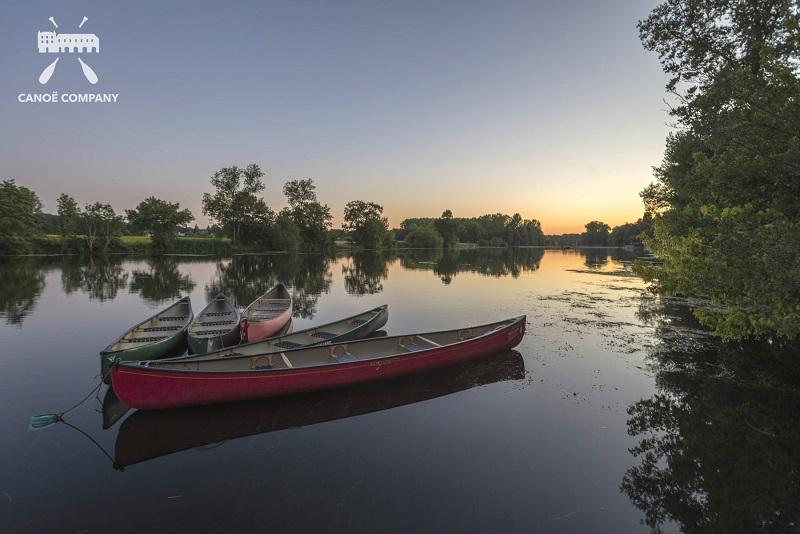 Canoe canadien, vallée du Cher, Chenonceau
