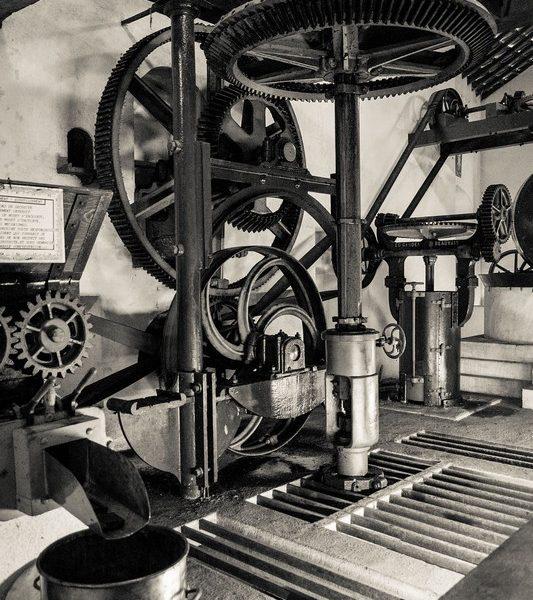 Mécanisme du Moulin de Marnay – Détails – Musée Maurice Dufresne