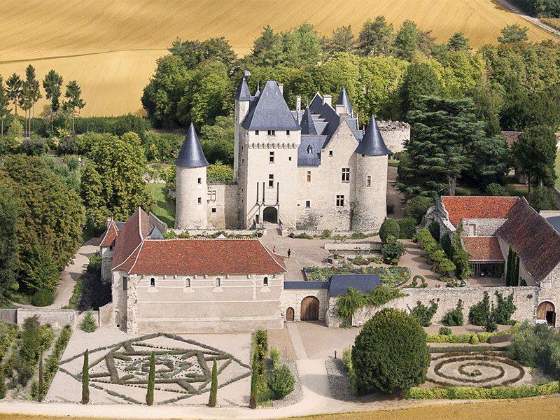 Château and gardens of Le Rivau