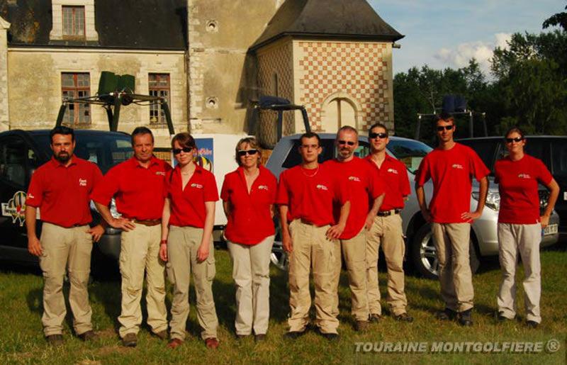 Touraine_Montgolfière_équipe
