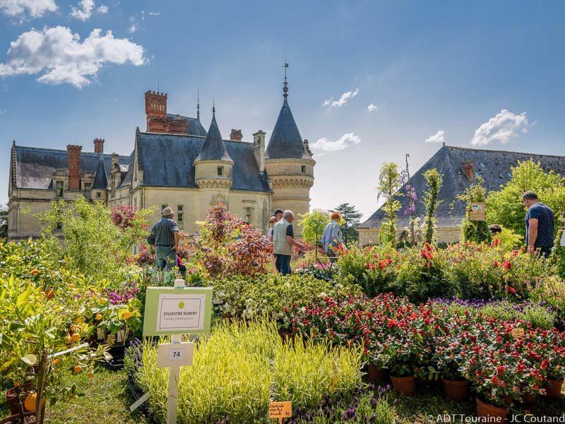 Fête des plantes et des poules – La Bourdaisière castle