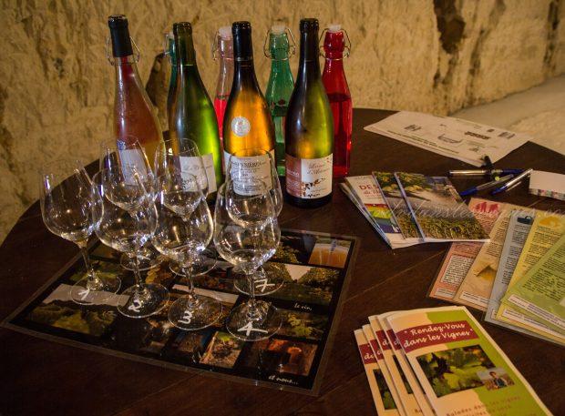 De la vigne au verre de vin – balade oenotouristique